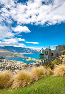 Views over Queenstown