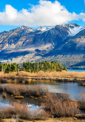 Scenic locations surrounding Queenstown
