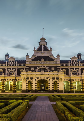 Historic Dunedin Railway Station