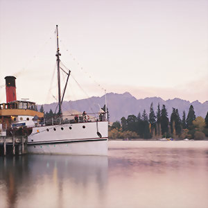 Set sail out of Queenstown on the TSS Earnslaw