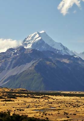 Stop off at Mount Cook National park