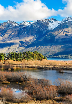 Fly you fools, to Glenorchy, home to countless LOTR set locations