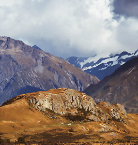 Ride to Rohan, Land of the Horse Lords & visit Edoras atop Mt Sunday
