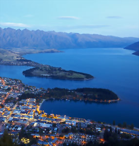 Queenstown & onto Lake Wakatipu
