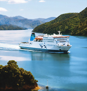 Interisland Ferry, Cook Strait