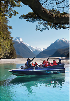 Dart River Jets, Glenorchy