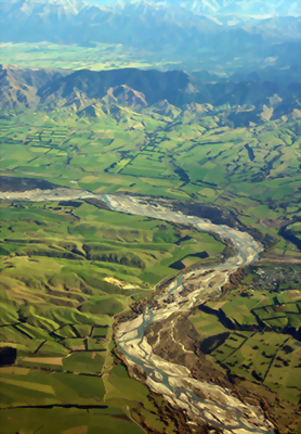 Canterbury Plains, New Zealand