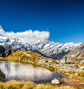 Hike Mt Cook National Park, New Zealand