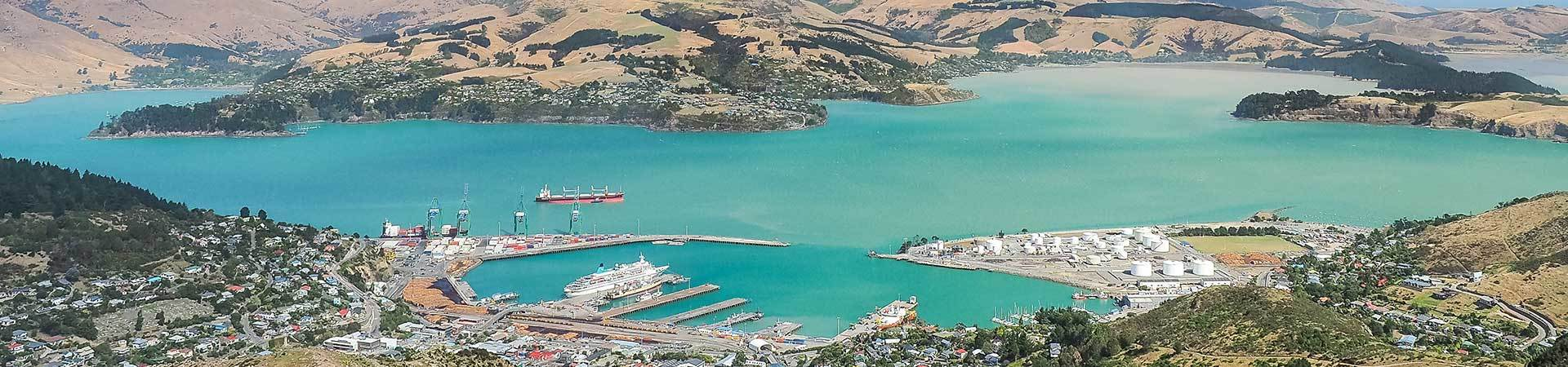 Port Lyttleton, Christchurch, New Zealand