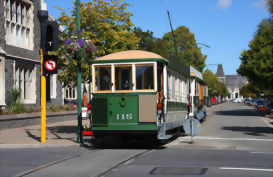 Historic heritage tramway, Christchurch