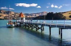 Akaroa Wharf, Christchurch, New Zealand