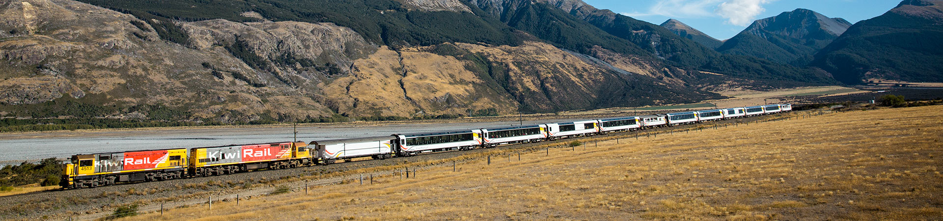 TranzAlpine scenic Train New Zealand