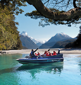Dart River Jet, New Zealand