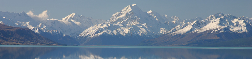 Lake Pukaki, Mt Cook National Park