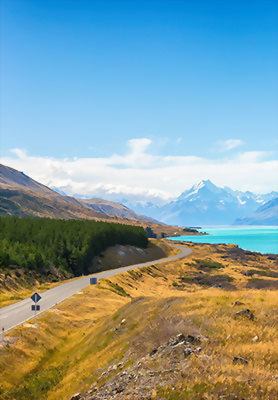 Mt Cook National Park, New Zealand