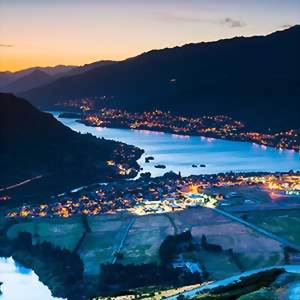 Aerial Shot of Queenstown