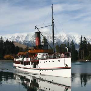 TSS Earnslaw, Real Journeys, New Zealand