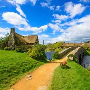 Visit the Hobbiton movie set
