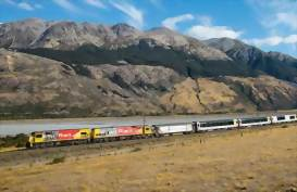 Tranz Alpine Scenic Train New Zealand