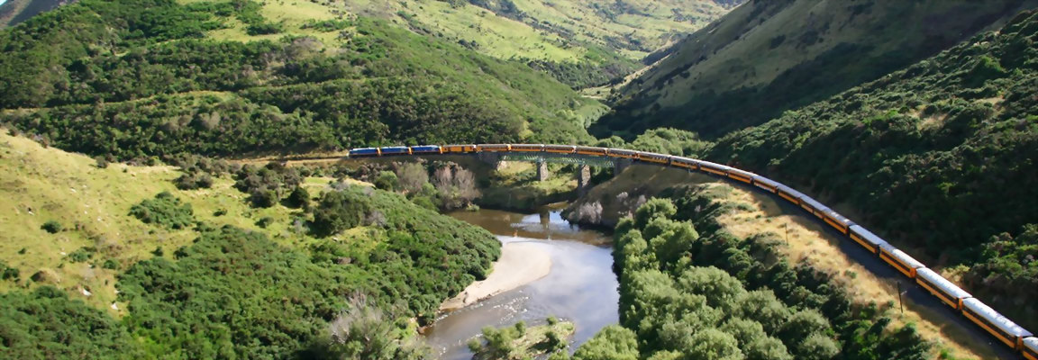 18 Day New Zealand Rail & Road Discovery Tour