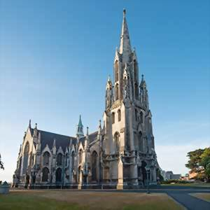 Dunedin Church, New Zealand