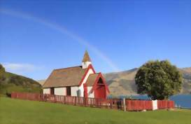Akaroa Church, Christchurch, New Zealand