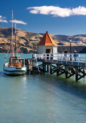 Akaroa, Christchurch, New Zealand