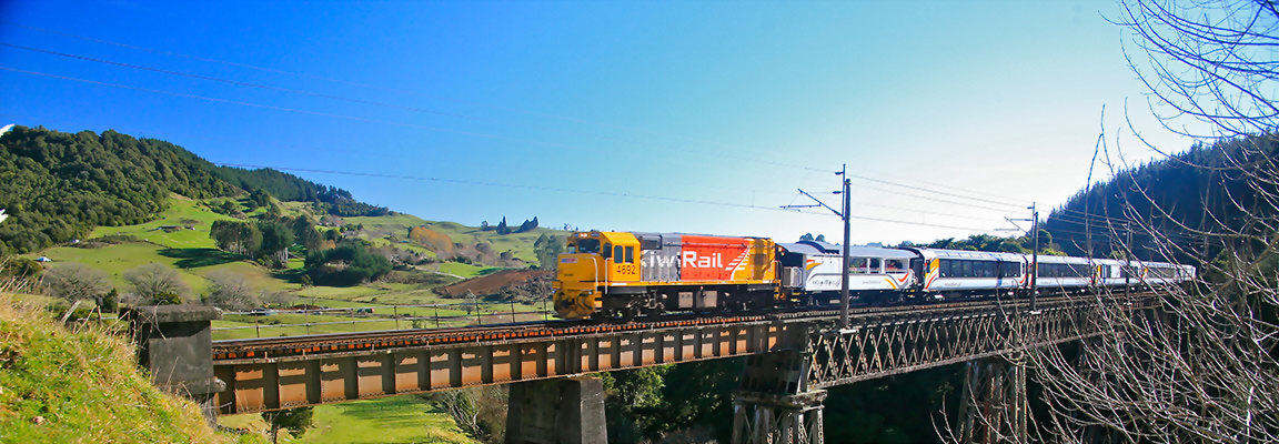 KiwiRail Northern Explorer Scenic Train
