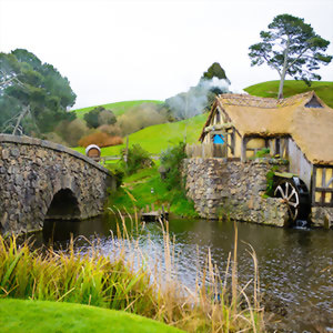 Hobbit Village Matamata New Zealand
