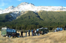 Nomad Safaris tour Glenorchy New Zealand