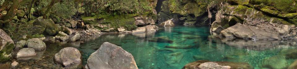 The Chasm, Milford, Fiordland National Park