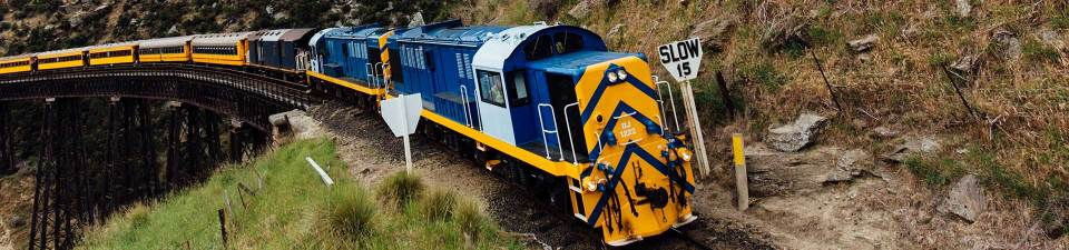 Taieri Gorge train, Dunedin