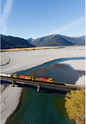 Tranzalpine train, New Zealand