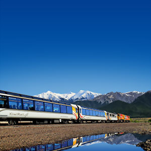 Journey across the south on the TranzAlpine train