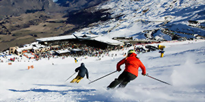 Queenstown ski holiday New Zealand