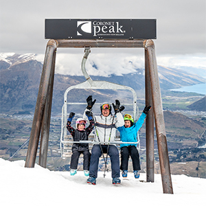 Learn to ski in New Zealand