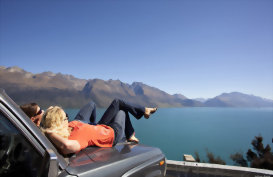 Enjoy the view across Lake Pukaki and the Southern Alps