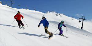 New Zealand skiing holiday