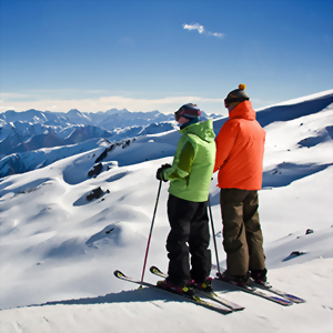 Ski tour of Queenstown & Wanaka