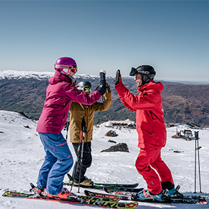 Beginners ski holiday New Zealand