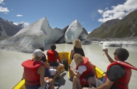 Glacier Explorers trip, Mt Cook National Park, New Zealand