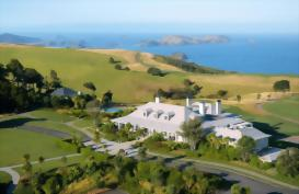 Kauri Cliffs luxury lodge, Northland, New Zealand