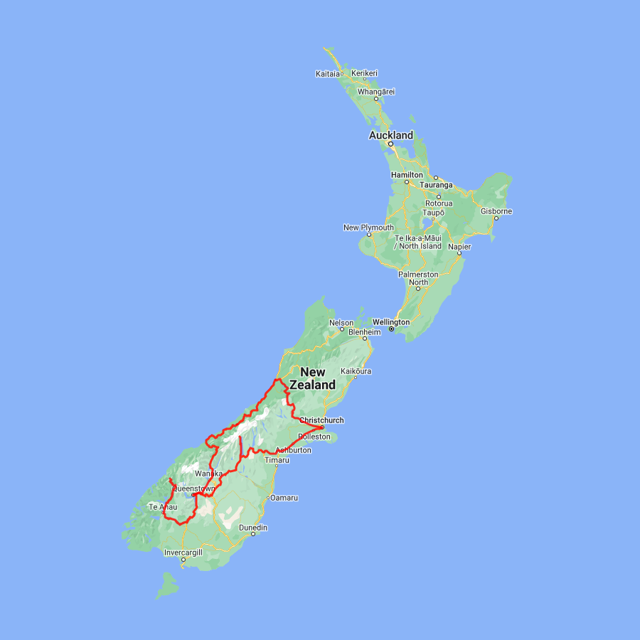 5 Day South Island Tour from Christchurch Including Queenstown and Milford Sound - view full itinerary