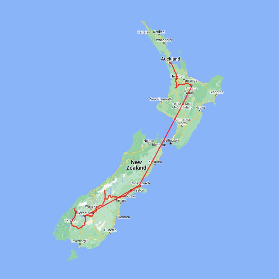 Fabulous New Zealand - view full itinerary