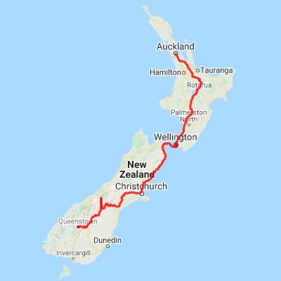 11 Day Self Drive Tour | Auckland to Queenstown