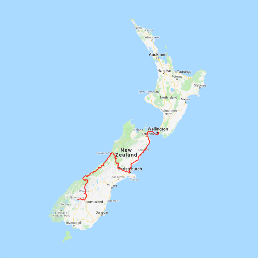 3 day - Christchurch, Tranz Alpine and West Coast Glaciers to Queenstown - view full itinerary