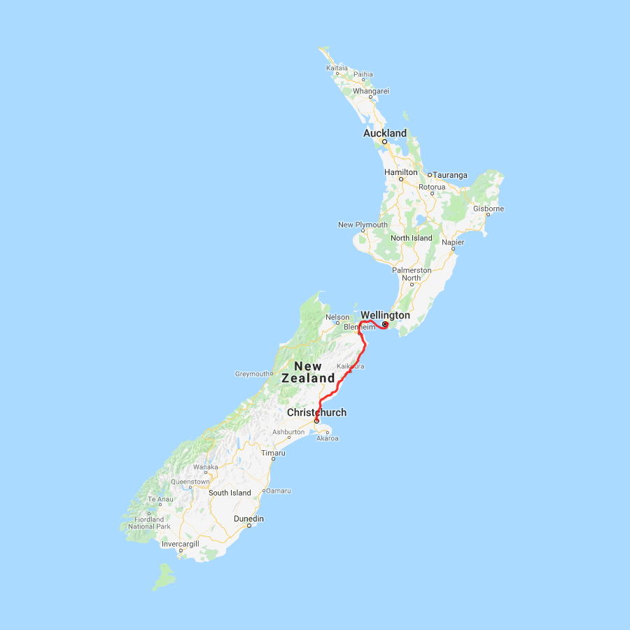 2 day Kaikoura and Christchurch Tour - view full itinerary