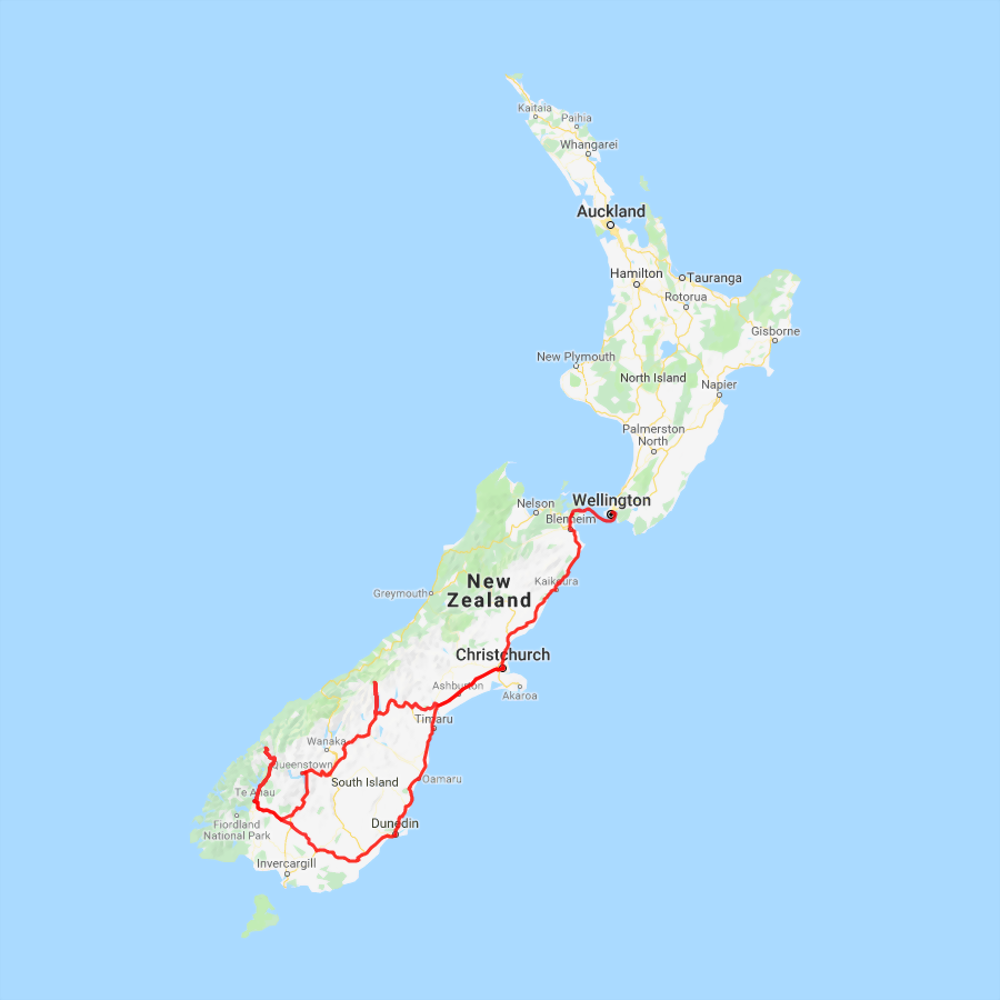 6 Day South Island Explorer - view full itinerary
