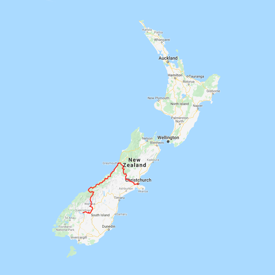 2 day Queenstown Glacier Express - view full itinerary