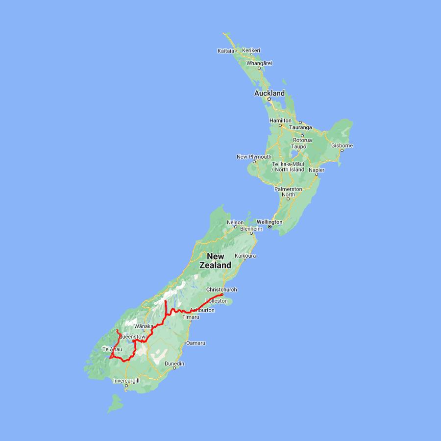 7 day Fiordland Explorer - view full itinerary